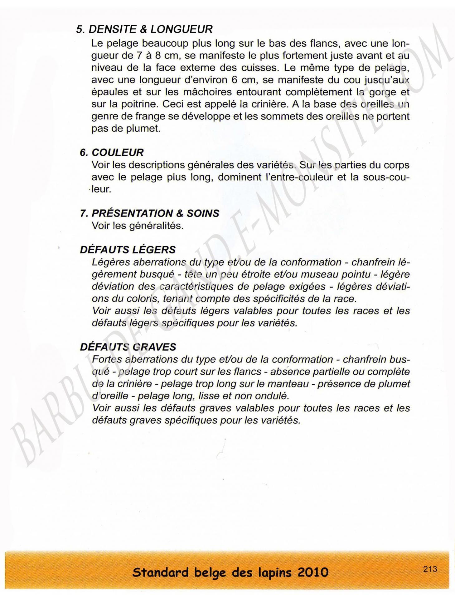 Standard belge 3 filigrane
